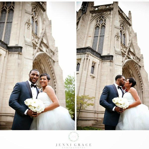 Modern Traditional Wedding at The Fairmont Hotel, Pittsburgh, PA