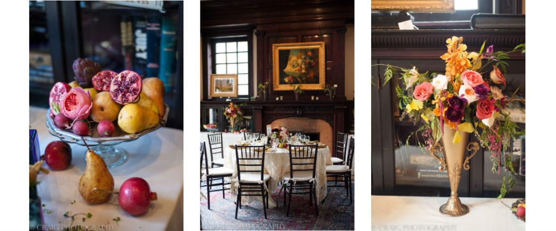 Dutch Still Life Wedding, Mansions on Fifth, Craig Photography, Mocha Rose,
