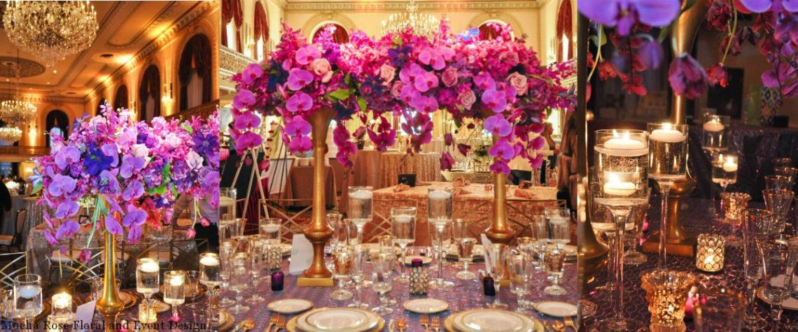 Omni William Penn Hotel, 2014 Showcase, radiant orchid, pink wedding, purple wedding, statement piece, Mocha Rose, Leeann Marie photography, The Leeann Marie Collective