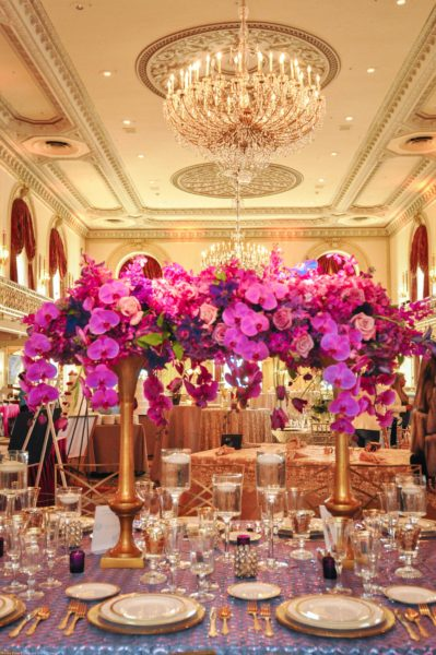 Leeann Marie Photography, Omni William Penn Hotel, Radiant Orchid, statement piece, Showcase