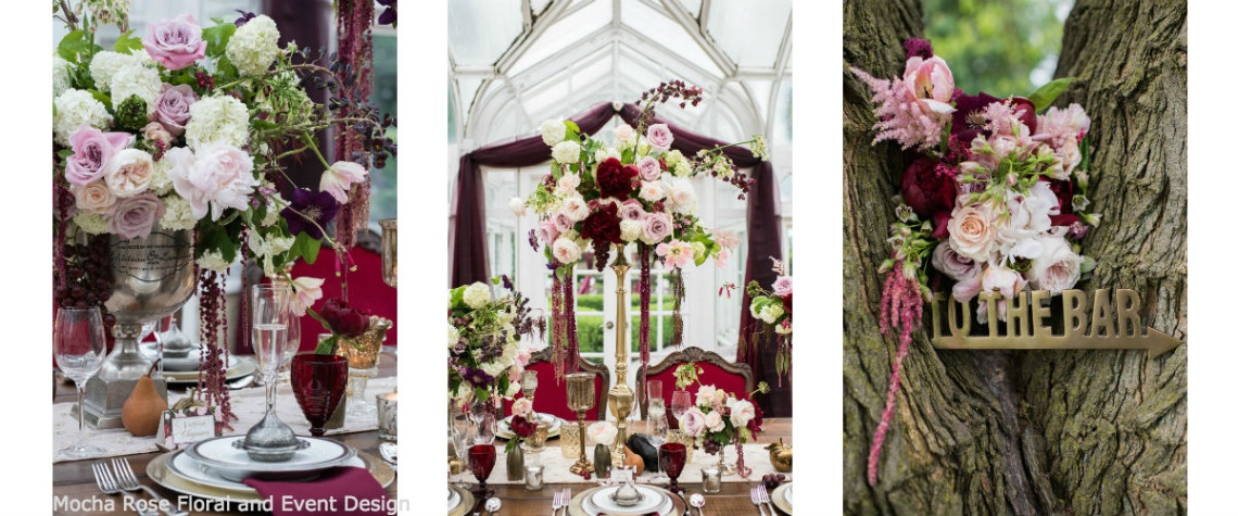 Angel's Vision Photography, Buhl Mansions, marsala wedding, romantic, styled shoot