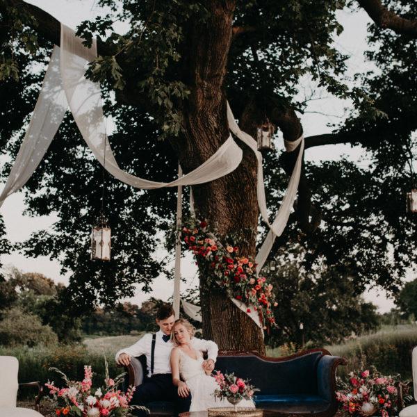 A Very Special Team Mocha Rose Wedding