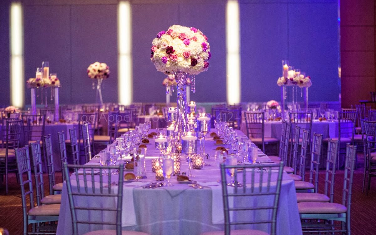 A Lovely Modern Purple Wedding at The Fairmont Hotel, Pittsburgh, PA