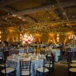 blush white marsala wedding reception Heinz History Center Mueller room