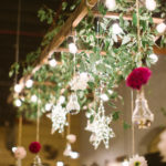 hanging decor smallman galley fall wedding reception pittsburgh