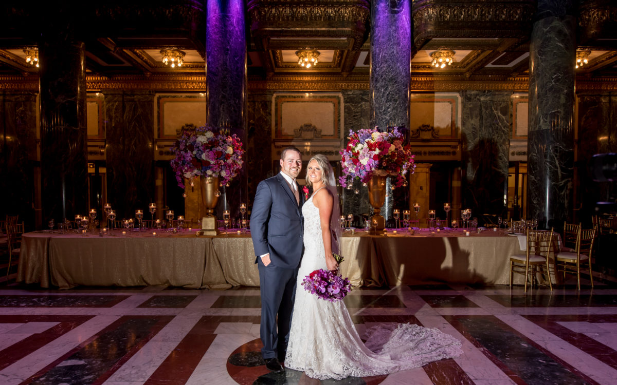 Stunning and Lavish Jewel Tone Wedding